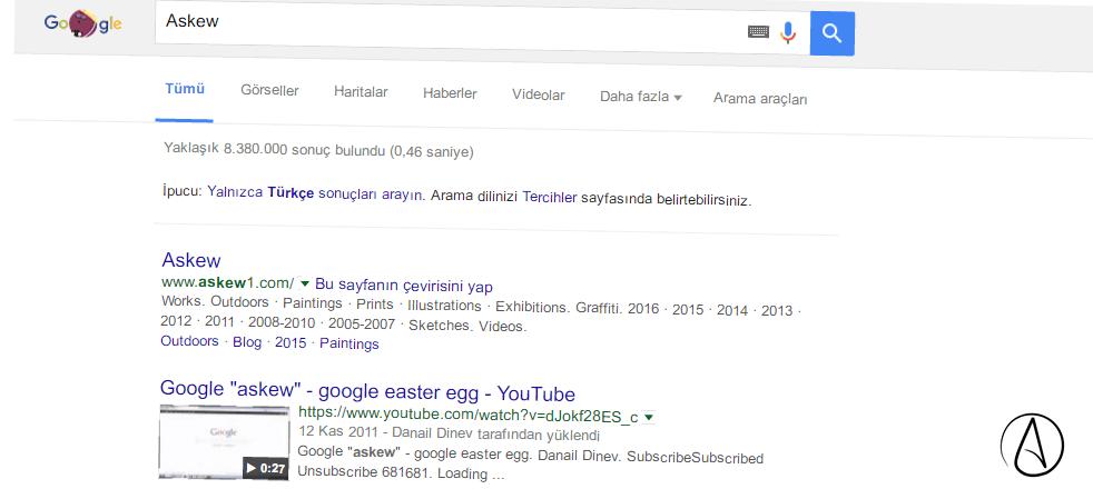 askew-google-ın-gizemleri