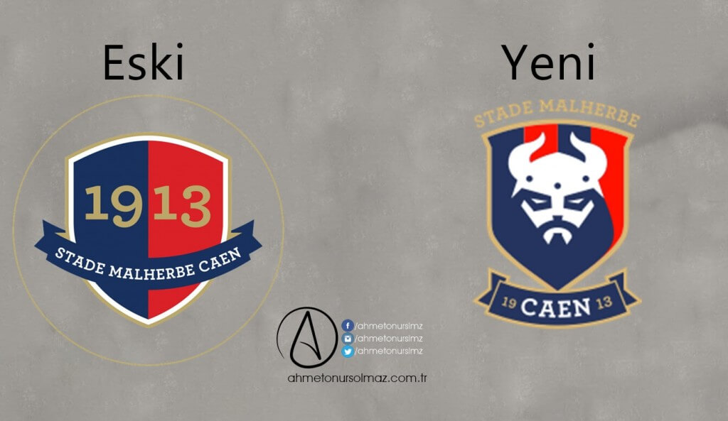 SM Caen'in Logosu Değişti