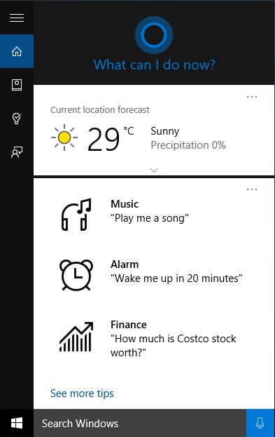 Cortana Nasıl Aktif Edilir ?