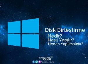 Disk birleştirme