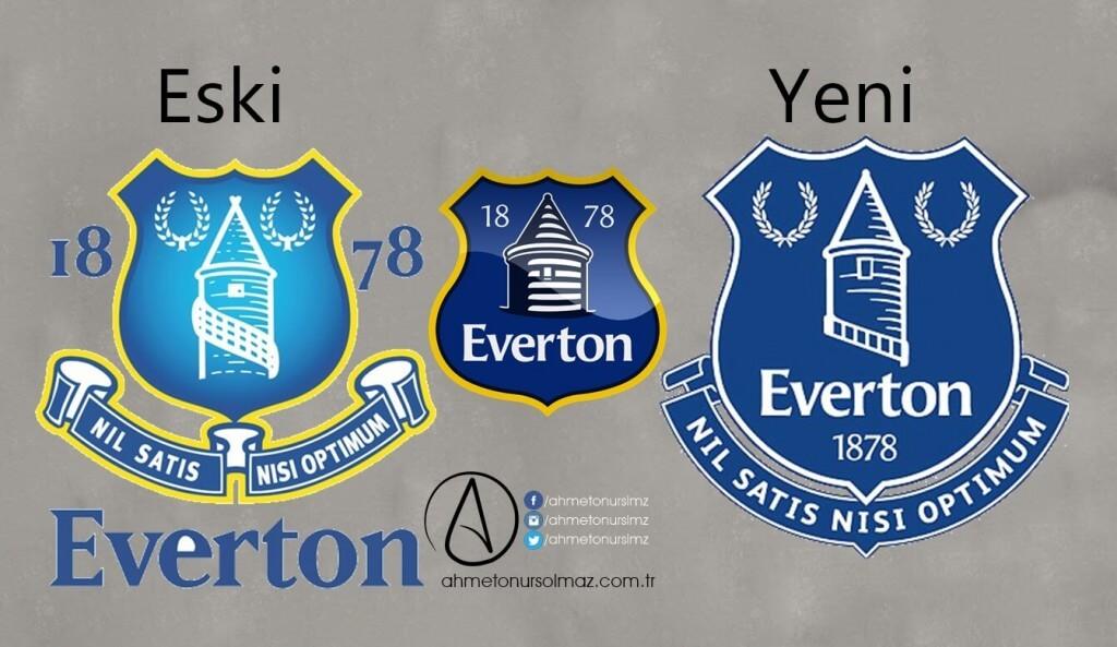 Everton'un Logosu Değişti