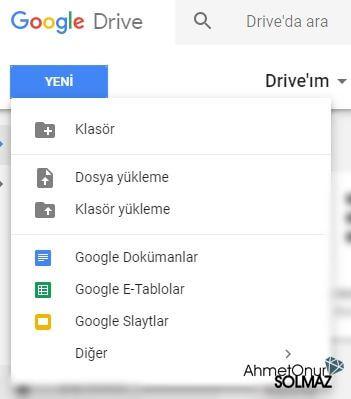Google drive ile office dosyalarını programsız açma