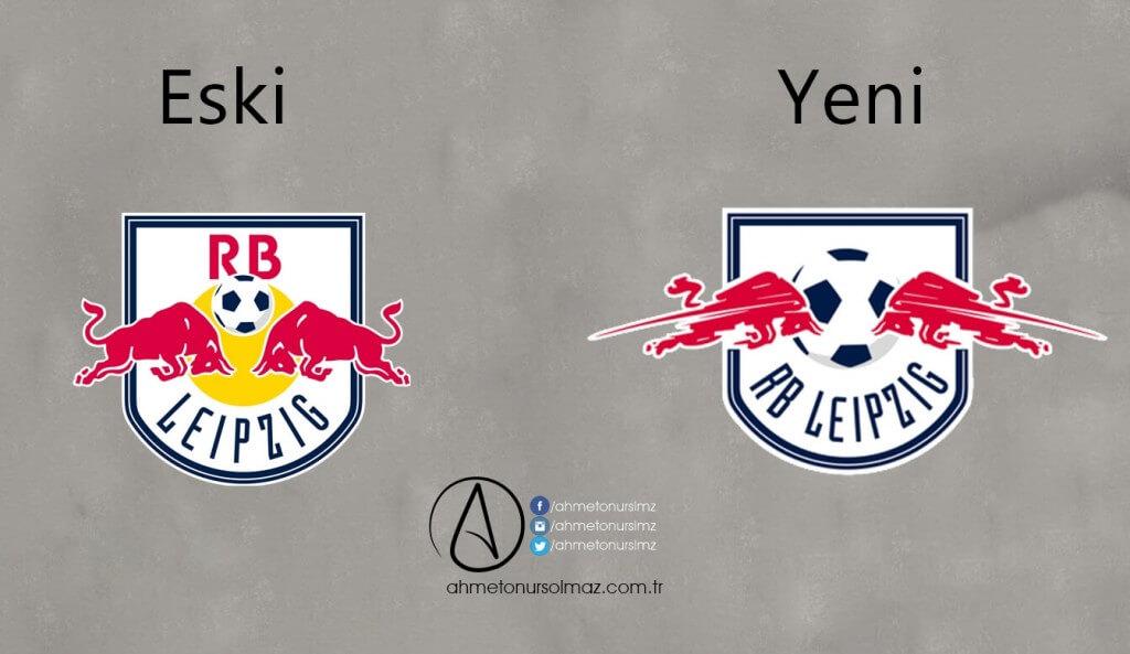 RB Leipzig'in Logosu Değişti