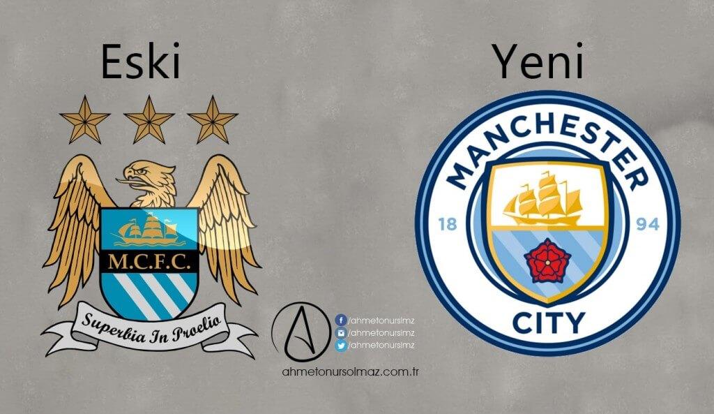 Manchester City'in Logosu Değişti