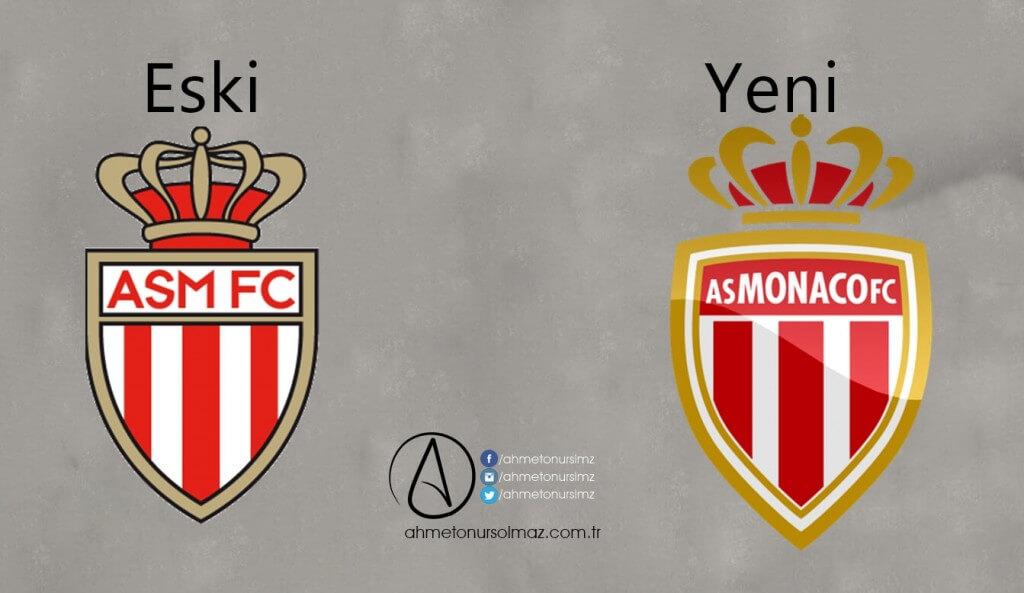 AS Monaco'nun Logosu Değişti