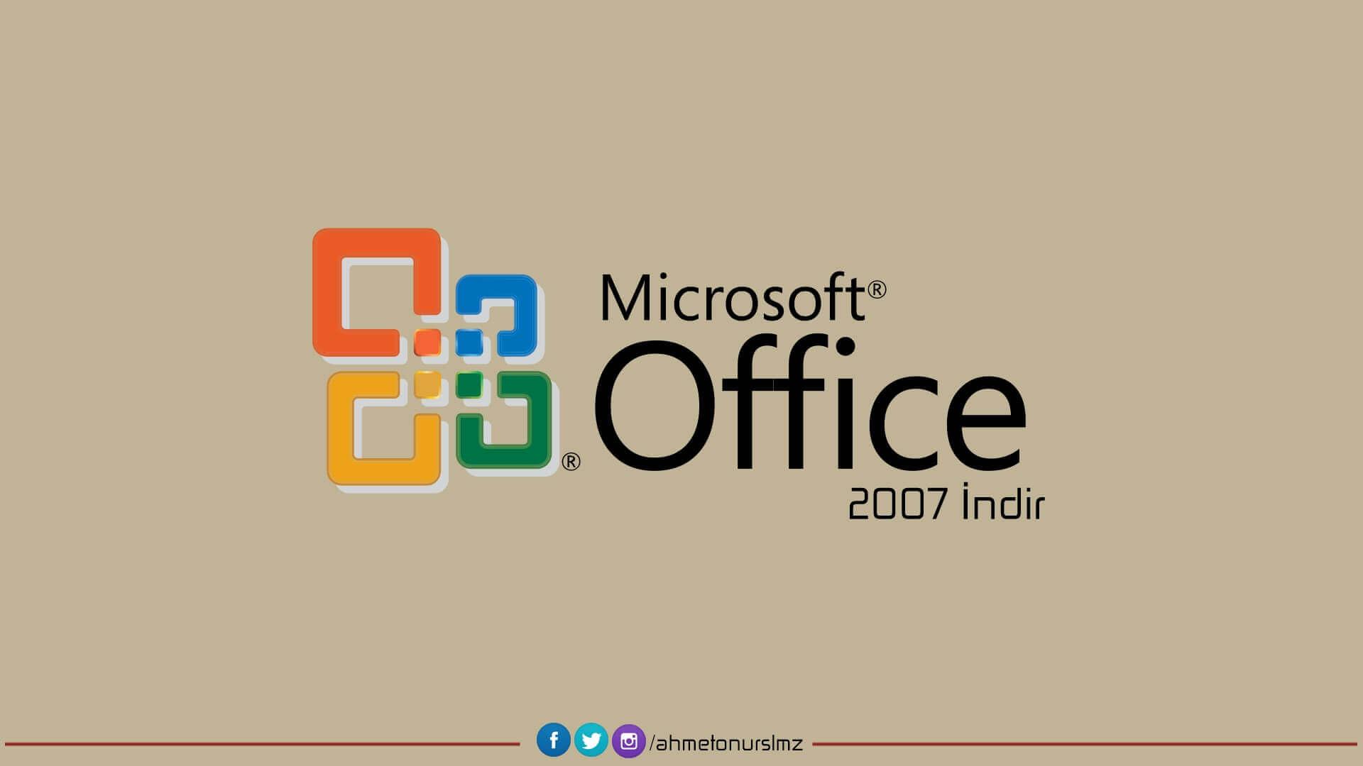 Office 2007 indir