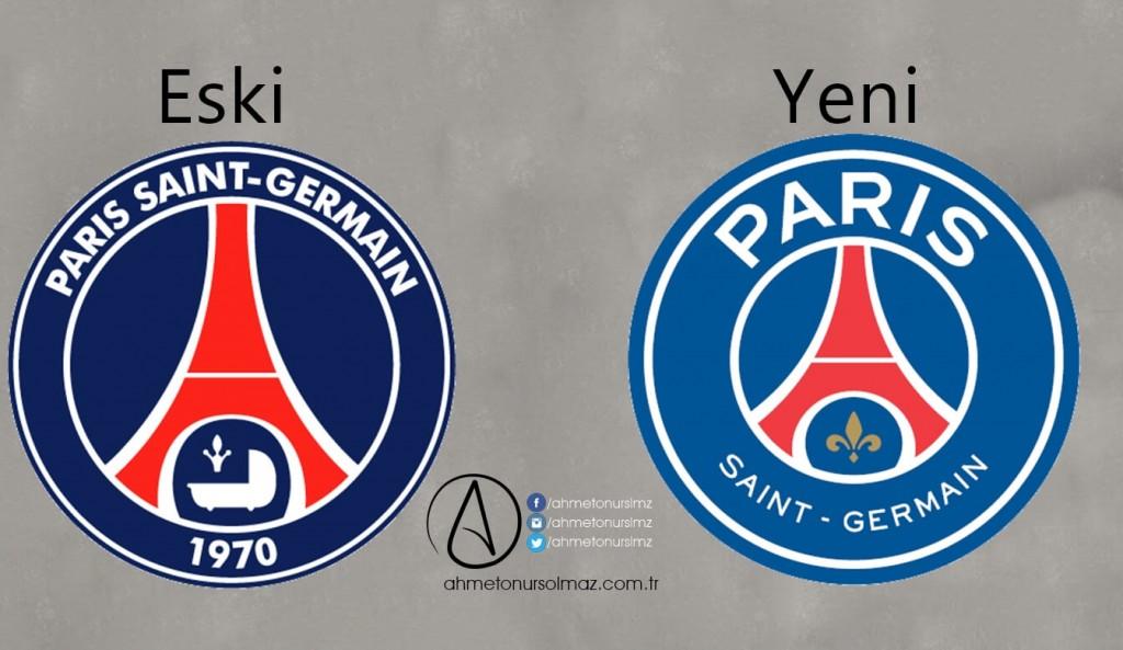 Paris Saint Germain'in Logosu Değişti