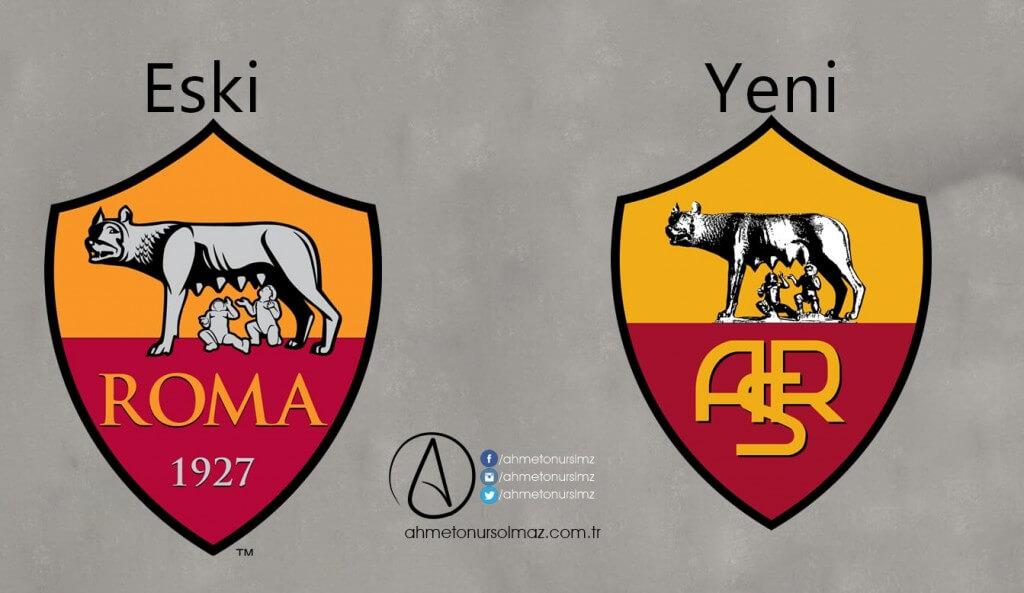 AS Roma'nın Logosu Değişti