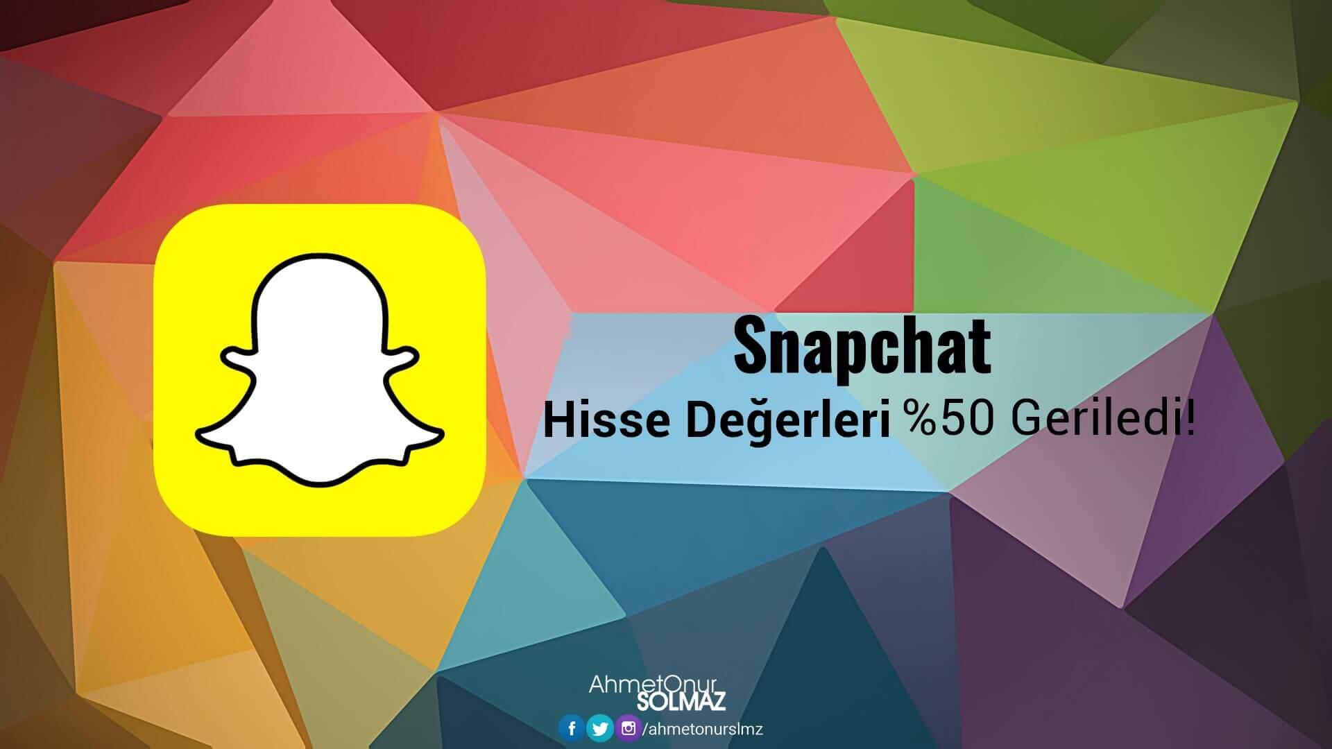 Snapchat Hisse Değerleri