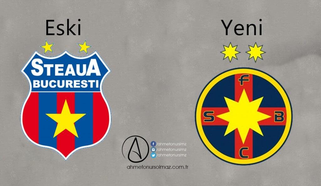 Steaua Bükreş'in Logosu Değişti