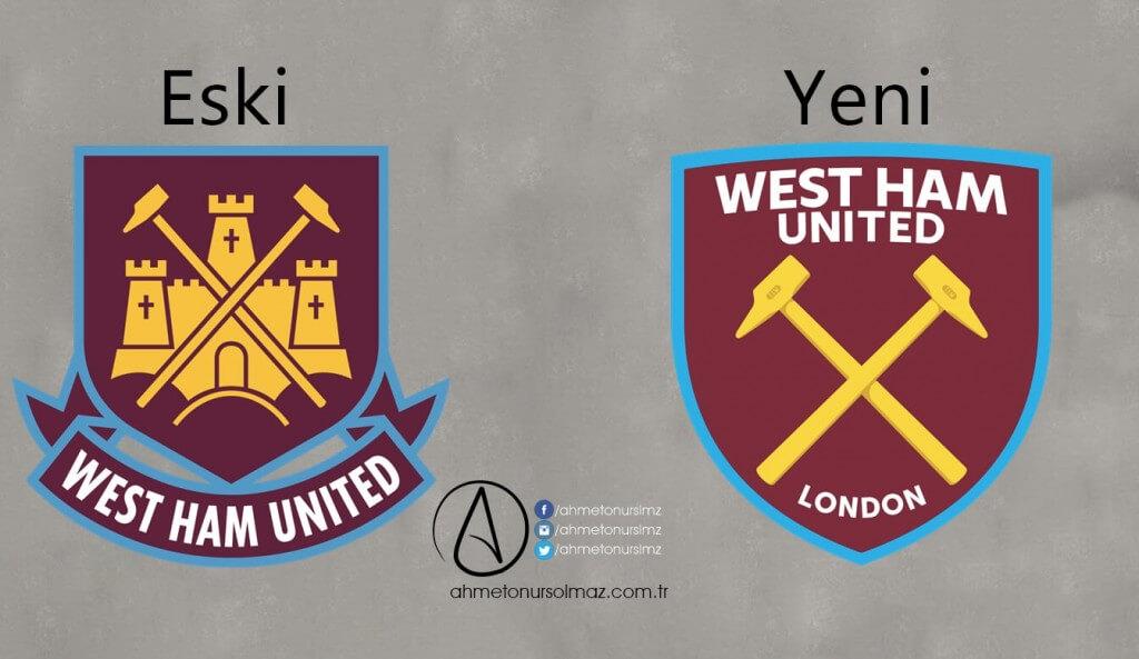 West Ham United'in Logosu Değişti