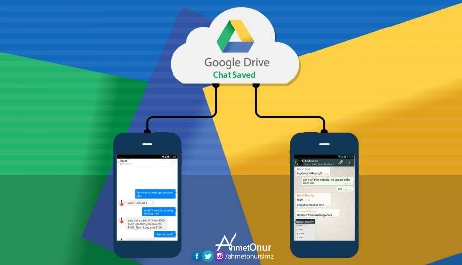 Whatsapp yedekleriniz Google drive alanınızda yer almayacak