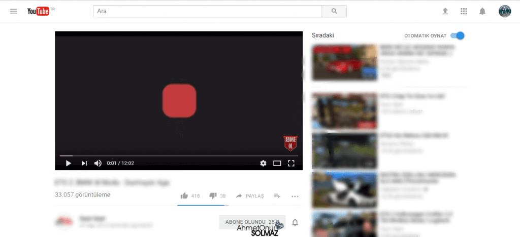 Youtube Yepyeni Tasarımı
